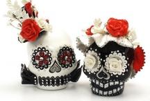 Skull Cake Topper gOOdiemud skull A / by madamepOmm BYK