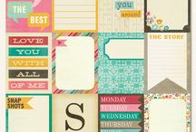Printables #projectlife