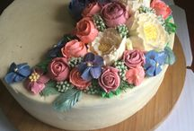 Buttercreamflower cake