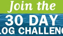 30 Day Blog Challenge / Blogging can change your life and grow your business or do both. So that's why in August 2013 I put on 30 Day Blog Challenge to inspire you to write daily on creating freedom in business and adventure in life. Since then I've created a new one - the 15 Day Blog Challenge you can join for free suitcaseentrepreneur.com/15-days-freedom-blog-challenge/
