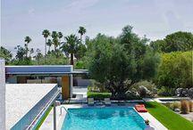 K a u f m a n n • H o u s e. Palm Springs. Richard Neutra.
