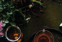 tea & herbal & essential oil
