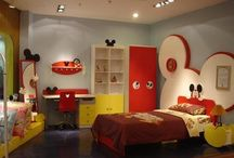Disney Room / Inspiration for Nini's grandkids' room!