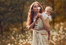 Babywearing photography