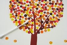 Fall Crafts and Snacks / Making childhood fun with memorable fall crafts and snack ideas.