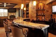 Bar at Home -Eat Drink and be Merry / Bars Signs / Home Bar /  Pop Fizz Clink! / by Tammy - Blessed