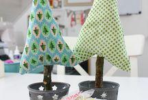 basteln weihnachten einfach / Sterne aus falschem Porzellan
