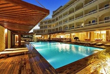Hotels in Greece / Our pick of some of the most beautiful and unique hotels located all over Greece and the Greek islands. If you are planning on visiting Greece in the near future, be sure to check out some of these excellent hotels. #Greece