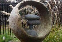 Dekorace z betonu - hypertufa