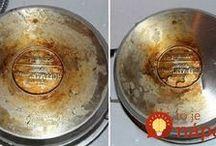 čištěnì nerez nádobí