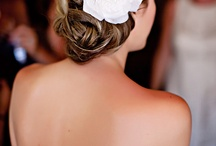 Hairstyles - loose and low buns / Wedding hairstyles - loose and low buns. Unkempt and effortless looking but perfectly chignonned!