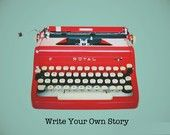 Create through writing / Creativity, writing, journaling, words, expression through writing