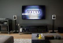 4k tv setup