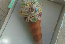 Fairy scepter and wand
