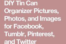 Tin Can Diy