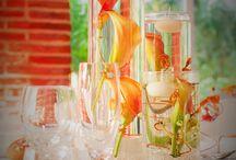Inspiration Décoration de Mariage / Centre de table pour mariage