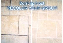Grout Shield Before & Afters