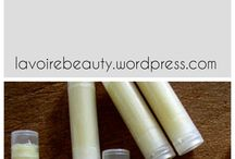Lip Balm Recipes / Homemade Lip balm recipes