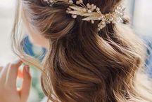 wedding makeup/hair