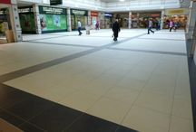 Monaghan SC Refurbishment / We recently refurbished Monaghan Shopping Centre using large format tiles.