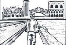 Picture Cycling Venice Lagoon