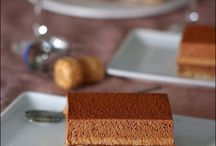 dessert en chocolat