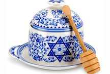 Jewish New Year Gifts / Beautiful tabletop gifts and judaica products for Rosh Hashanah.