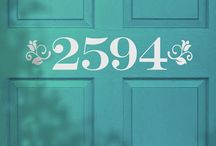 House Numbers / Just for fun. / by Adam Dow