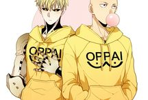 ONE PUNCH MAN ♥ / Funny, Hero, Fight, Master,One Punch, Cyborg,