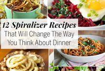 spiralizer recipes