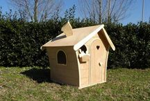 Dream House outdoor / Wooden toys.