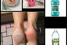 Vinaigre pieds