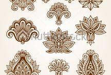black white patterns