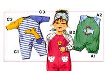 Patterns - Babies & Kids / Downloadable patterns