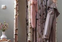 Birkenstamm-Garderoben von Birkendoc