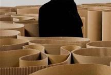 Arte Povera / Kunstwerkstuk over Arte Povera
