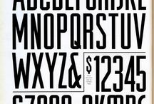 Typeface / by Precious Bugarin