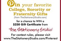 The Stationery Studio Collegiate Gifts Contest / by Tammie McCuin