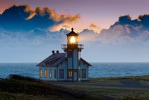 Lighthouses & Light Stations / by Laura Rogers