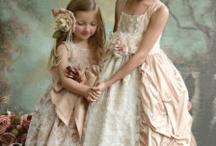 Vintage flower girl dresses
