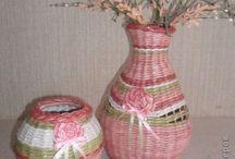 Papírfonás - Vázák