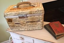 Decorated Train Cases / by Diane Bartek