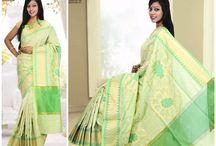 Cotton Banarasi sarees / Exclusive Sarees........