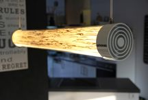 WOODEN TUBE / wooden designer lamps with LED technology