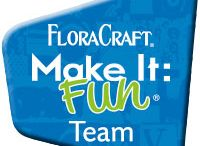 2016 Make It: Fun Team Projects / This board is full of the 2016 Make It: Fun Blog Team's fabulous creative project ideas using FloraCraft® Make It: Fun® Foam!  Check back often to see new ideas from the monthly challenges!