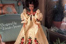 barbie jurk  gehaakt