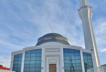 Turkey: Eskisehir Kobi OSB Mosque, Eskisehr / Eskisehir Kobi OSB Mosque in Eskisehr (Turkey) by by Horasan Insaat, Contractor : Kayalar Kenet,  #Zinc #QuartzZinc #VMZINC #Dome #Turkey #Architecture