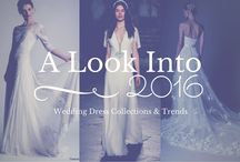 WEDDING DRESS COLLECTIONS & TRENDS 2017
