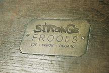 Lunettes - Design - Hand made / La marque Strange Froots réalise des lunettes et autres accessoires fait main ou industriellement.