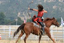 Horseback Archery / All about Horseback Archery events, equipment and tips.